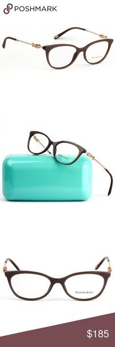 30f18a48bb3b Tiffany   Co. 2142 Infinity Eyeglasses Pearl Brown Tiffany   Co. Cat eye  infinity