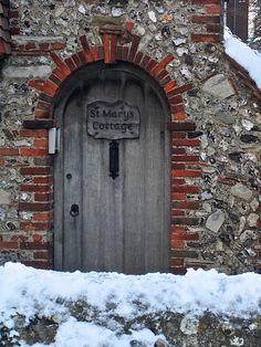 Cottage Door by Adam Tinworth, via Flickr