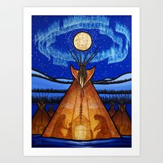 Returning Home Art Print by Aaron Paquette