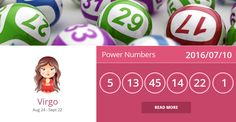 Virgo lucky numbers for 2016/07/10. PIN/LIKE if accurate. #virgo, #horoscope, #horoscopes, #astrology