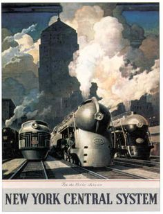 Art Deco Railroad, the New York Central.