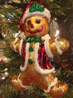 We have a beautiful collection of glass ornaments from Old World Christmas!