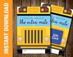 Free Printable: Bus Driver Christmas or Happy Holidays ...