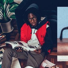 Never cut corners // The tortoise Acetate square frame does optical right // @DanielCaesar shows them off in 📷  by @HYPEBEAST