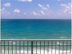 Ocean and Intracoastal view condo. 19700 BEACH Rd # 7N (Carlyle Bldg, Tequesta) $3,395,000
