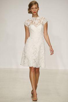 Vestido de boda muy sobrio. Amsale PV13 - Amsale