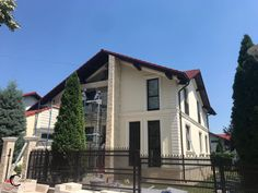 Proiect Casa Rezidentiala Arges – Profile Decorative Design Case, Home Fashion, Profile, Exterior, House Design, Windows, Mansions, House Styles, Home Decor