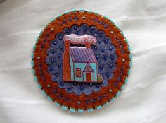Hey, I found this really awesome Etsy listing at https://www.etsy.com/listing/201808790/illustrated-brooch-little-turquoise