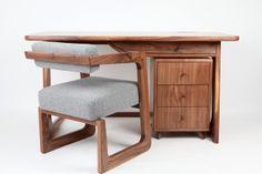 Solid Walnut Desk £1,495.00