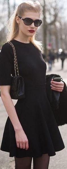 Classic in black.