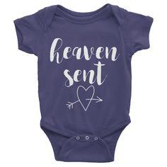 Heaven sent onesie | Christian onesie | Christian baby gift | Christian baby shower