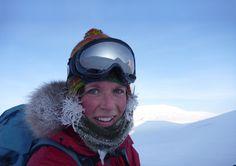 Sigrid Henjum – kajakkpadlar, klatrar, skiløpar, kokk, jeger og eventyrar. Foto: sjølvportrett, lisens CC-BY-SA