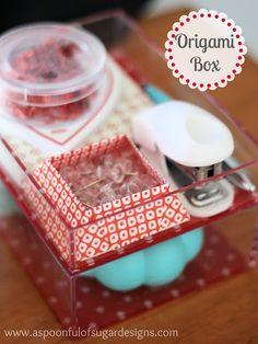 Origami Box - A Spoonful of Sugar