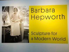 Barbara Hepworth Exhibition 'Sculpture for a Modern World' Photo: BarbaraEtcetera
