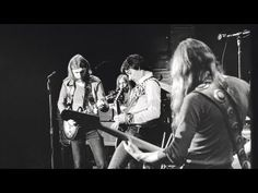 """The Allman Brothers Band have been playing """"One Way Out"""" in concert from at least February A live recording was included on their 1972 album Eat a Peac. Music Songs, New Music, Music Videos, Live Music, Berry Oakley, Dickey Betts, Fillmore East, Slide Guitar, Trending Songs"""