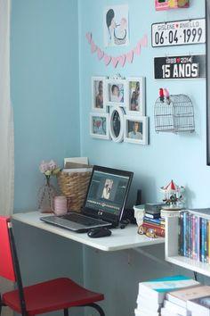 Meu home office - http://www.porqueestousempreocupada.blogspot.com.br/