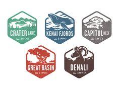 National Park Stamps, Part 2 by Valerie Jar (Salt Lake City)