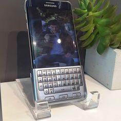 Probando el Note5 #TheNextGalaxy @SamsungPTY Keyboard Cover
