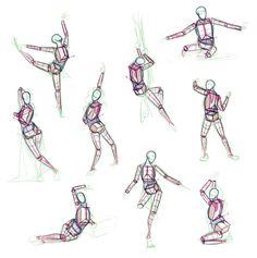 Anatomy Practice by giselleukardi.deviantart.com on @deviantART