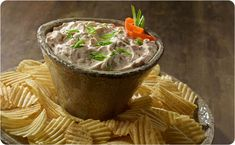 Caramelized French Onion Dip - Better Than Bouillon Appetizer Dips, Appetizer Recipes, Better Than Bouillon Recipe, French Onion Dip, Recipe Details, Everyday Food, Yummy Eats, Holiday Recipes, Holiday Ideas
