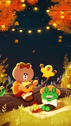 Lines Wallpaper, Bear Wallpaper, Kawaii Wallpaper, Wallpaper Iphone Cute, Line Cony, Bunny And Bear, Friends Wallpaper, Tumblr Stickers, Cute Love Pictures