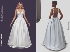 Argel Wedding Dress - The Sims 4 Download - SimsDomination