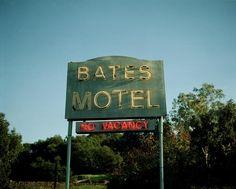 No Vacancy, Tova Mozard Bates Motel, Neon Signs, Pictures, Photography, Art, Photos, Art Background, Photograph, Photo Illustration