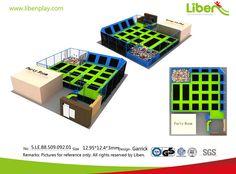 Kids Indoor Trampoline Design