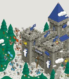 Illustration FaceBook © Laurent Bazart