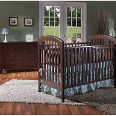 Love Ace's Pali Crib & changing table! Super sturdy and beautiful solid wood. It's Italian Awesomeness!