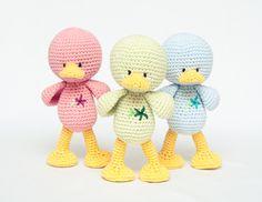 Amigurumi by Melmalia Crochet Birds, Easter Crochet, Crochet Bear, Love Crochet, Crochet Animals, Crochet Amigurumi, Amigurumi Patterns, Crochet Dolls, Crochet Patterns