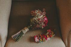 Bouquet de colores vivos