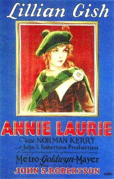 "2/17/14 2:56p  MGM  ""Annie Laurie""    Lillian Gish 1927 kimberlysondra.com"