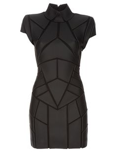 Gareth Pugh Geometric panelled dress  #cyberpunk #dress