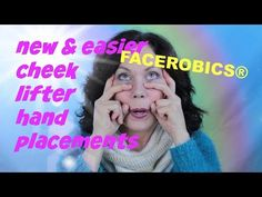 Hi Everyone, here is a video that gives New & Easier Finger Placements for the Cheek Lifter Exercise and will help you Lift your Sagging Cheeks and Sagging J. Face Exercises Cheeks, Face Lift Exercises, Neck Exercises, Facial Exercises, Cheek Lift, Eye Lift, Facial Yoga, Facial Massage, Sagging Cheeks