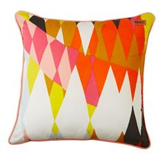 Confetti Toucan Cushion Cover - Hot Hot Hot!!! Florence and Albion