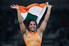 Female Wrestler Wins India's First Medal at Rio Olympics, People, India, Sport