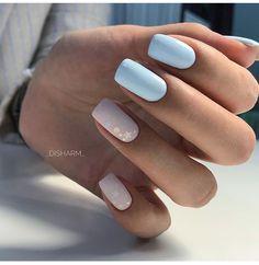 I put my nail polish like a pro! - My Nails Pastel Nails, Cute Acrylic Nails, Pink Nails, Cute Nails, Pretty Nails, Glitter Nails, Aycrlic Nails, Nail Manicure, Hair And Nails