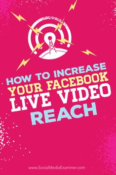 Do you broadcast Facebook Live videos?  Monitoring the reach and engagement of your Facebook Live broadcasts lets you see what's working and what you need to do to improve your results.  In this article, you'll discover tips to improve the reach of your Facebook Live video broadcasts. Via @smexaminer.