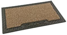 Clean Machine Country French 18-Inch by 30-Inch Doormat, Taupe by Clean Machine. $21.14. Resists mildew and moisture. Made from genuine astroturf. Care: shake out dirt and wash with garden hose. Clean machine technology holds and hides over one pound of dirt. Great in snow or hot weather. 1. The Hardest working doormats in the World. Clean Machine branded doormats are exclusively made with Genuine AstroTurf scraper blades which have been keeping homes clean for over...