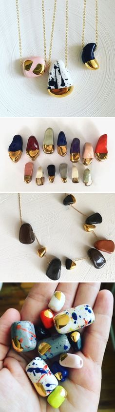 Ceramic Beads by Brooklyn Beach Rocks