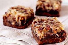 Coconut-Pecan-Crusted Brownies Recipe