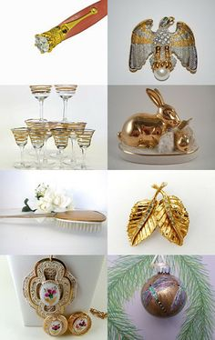 Vintage Gold  by Megan on Etsy--Pinned with TreasuryPin.com