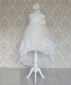 Платье для девочки от 3 до 7 лет +ободок в подарок GFL-167143С