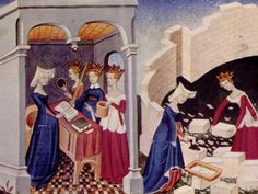 Listen to the Stuff You Missed in History Class Episode - Christine de Pizan and the Book of the City of Ladies on iHeartRadio Missed In History, History Encyclopedia, Magna Carta, History Class, Medieval Clothing, Bnf, 15th Century, Famous Women, Ancient History