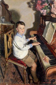 «The Pianist», Mark Lancelot Symons (1887-1935)