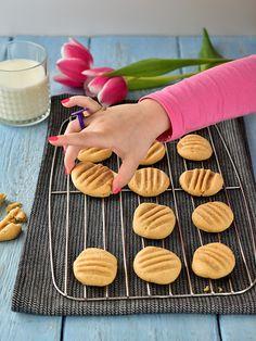 Arašídové sušenky - klasická verze / peanut butter cookies Peanut Butter Cookies, Sweet Life, Recipe Ideas, Peanut Butter Chip Cookies, Dolce Vita