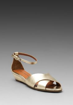MARC BY MARC JACOBS Classic Sandal Wedge in Champagne at Revolve Clothing - Free Shipping!