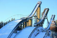 ski jumping hills Talven koitoksia ootellessa | Kuvakuja.fi