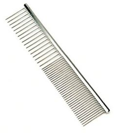 SAFARI 7-1/4 ' METAL DOG GROOMING COMB * MEDIUM/COARSE COAT PET -- Want additional info? Click on the image. (This is an affiliate link and I receive a commission for the sales)
